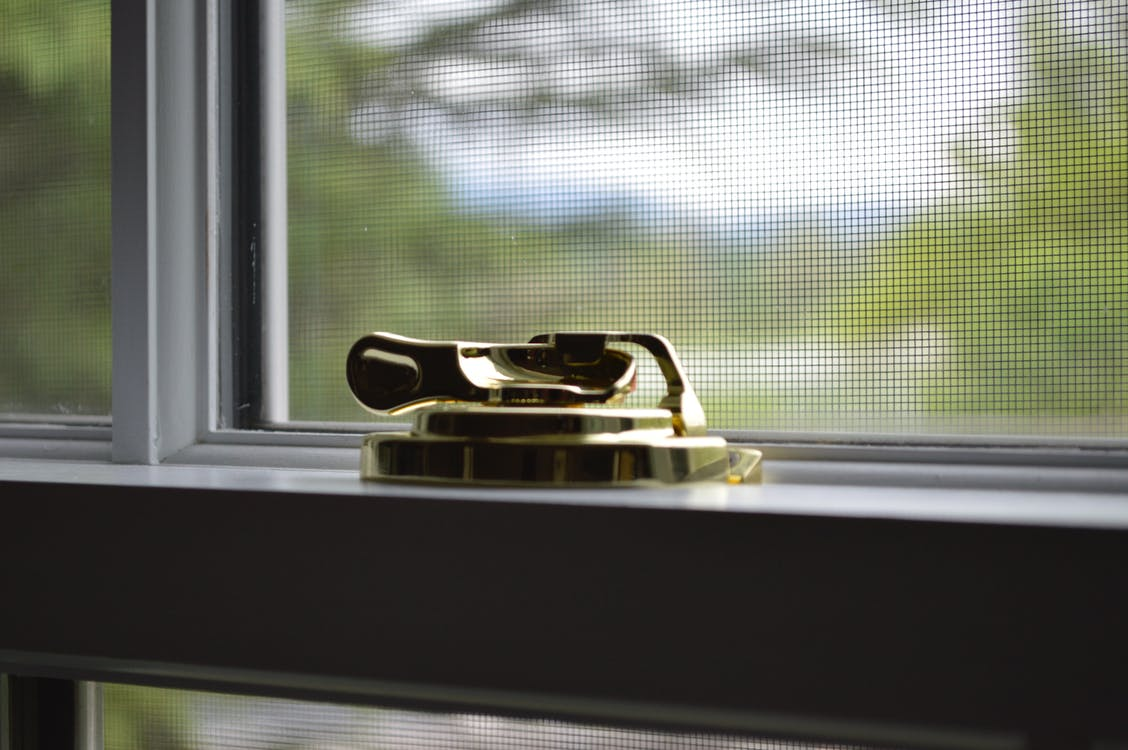 Gold Window Lock
