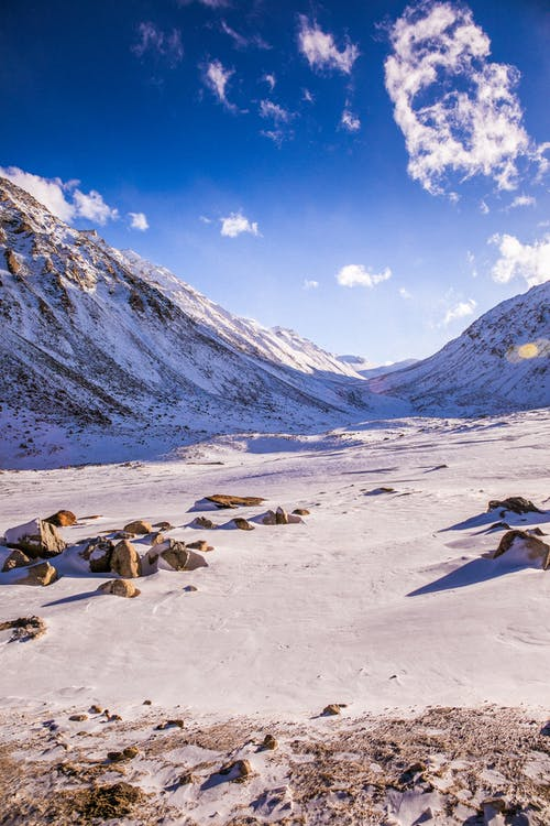 Foto d'estoc gratuïta de a l'aire lliure, cobert de neu, constipat