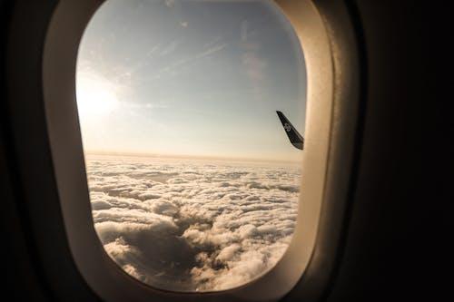 Fotobanka sbezplatnými fotkami na tému letecké strely, lietadlo, mraky