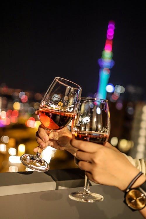 Fotobanka sbezplatnými fotkami na tému nový rok, oslava, pohár