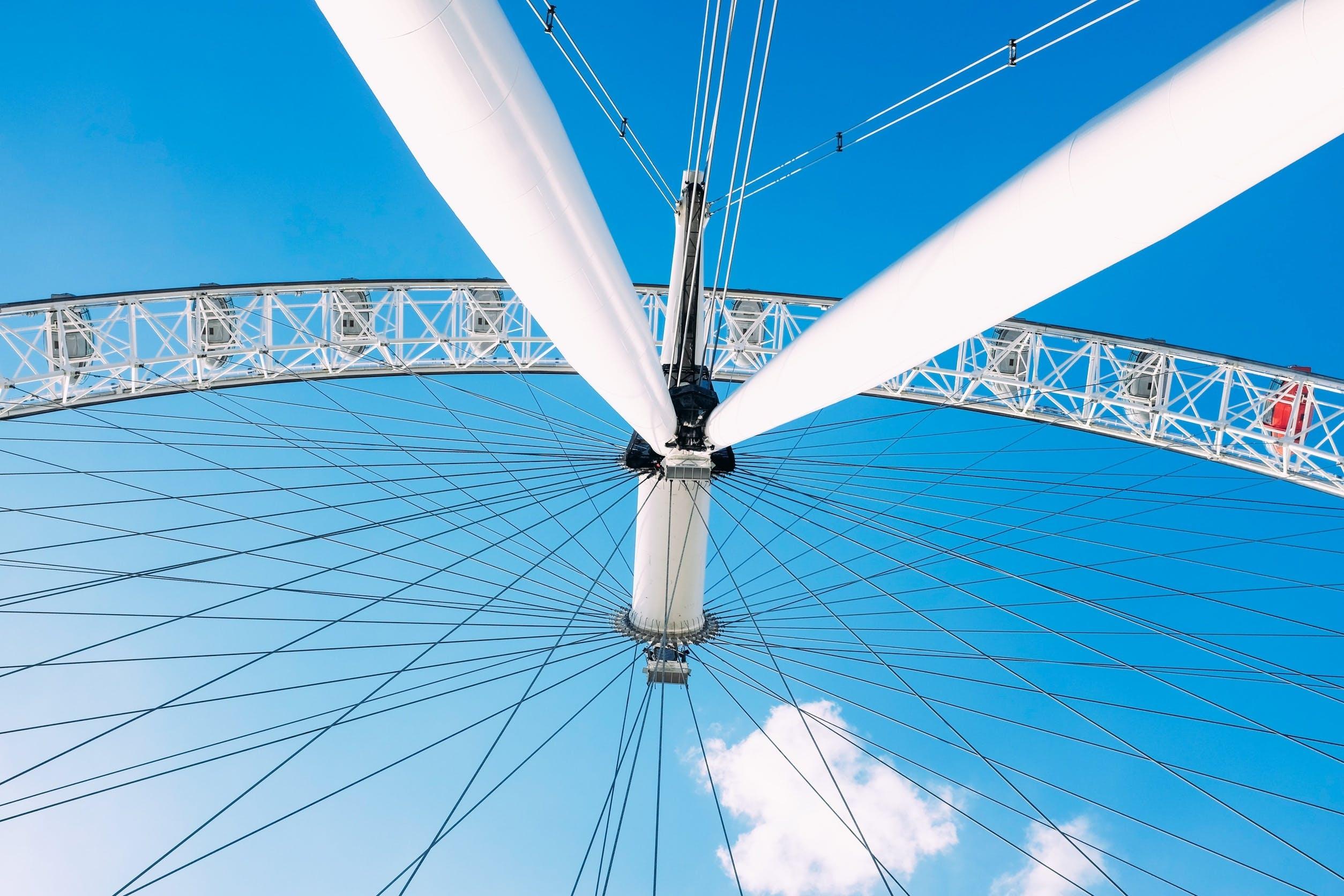 Free stock photo of sky, blue, festival, ferris wheel