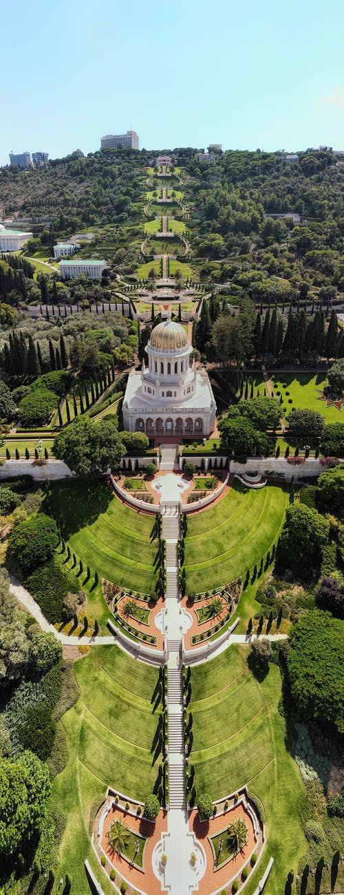 Free stock photo of aerial, aerial aerial shot, ancient, BAHAI