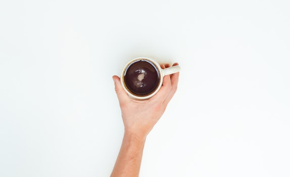 Free stock photo of coffee, cup, hand, mug