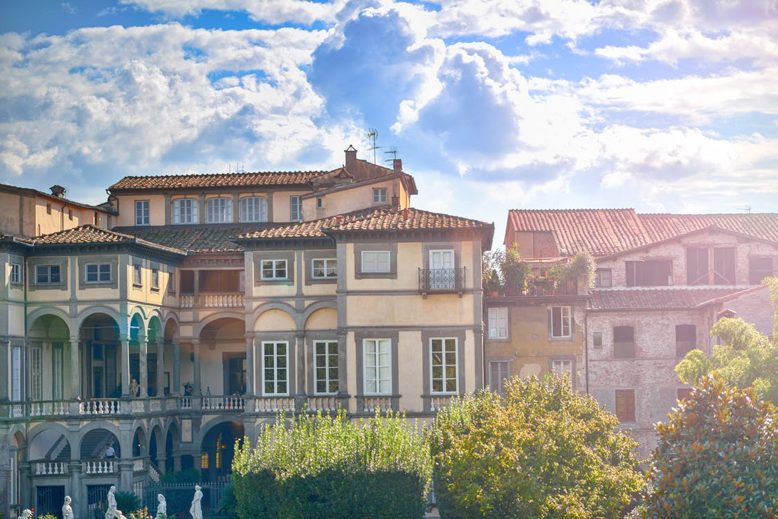 Ilmainen kuvapankkikuva tunnisteilla arkkitehtuuri, Italia, kylä
