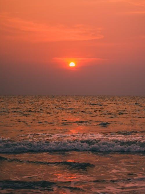 Gratis stockfoto met blikveld, dageraad, golven