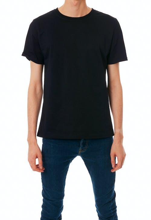 Free stock photo of black t shirt, blank shirt, brand