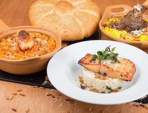 Food on Plates