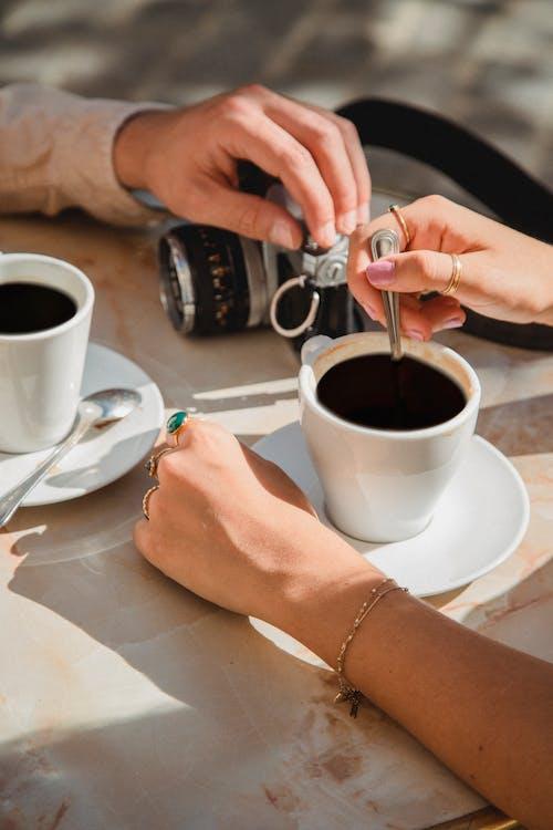คลังภาพถ่ายฟรี ของ กาแฟ, กาแฟในถ้วย, คาเฟอีน