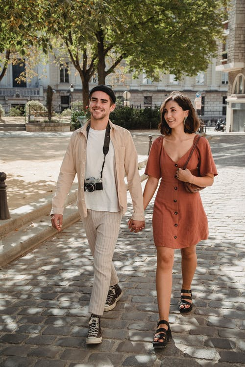 Immagine gratuita di amore, appuntamento, camminare