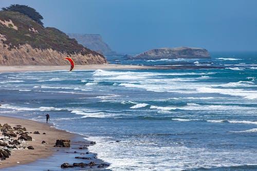 Kostenloses Stock Foto zu erholung, kalifornien, kitesurfen