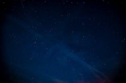 Foto d'estoc gratuïta de cel estrellat