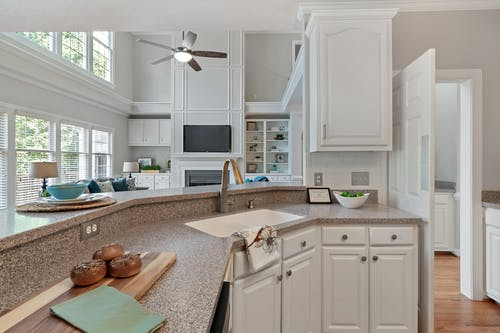 Photo of a Kitchen Counter