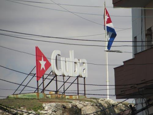 Free stock photo of bandera, calle, cartel