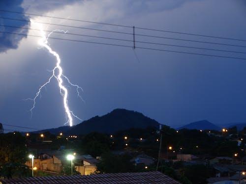 Lightning Strike on the Mountain