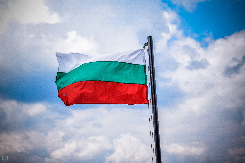 bulgarian, clouds, flag