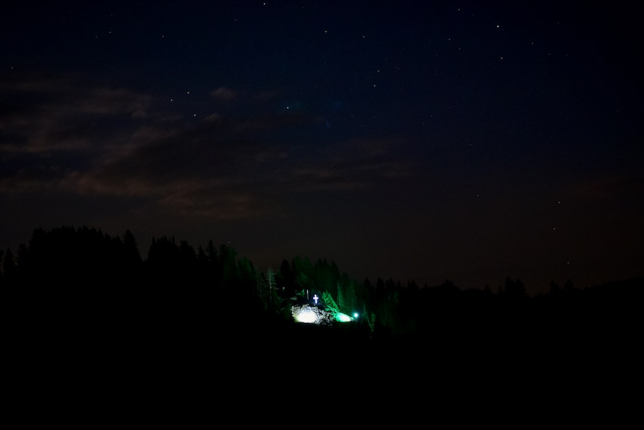 astrophotography, cross, night