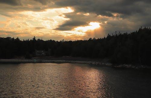 Free stock photo of 4k wallpaper, beach sunset, beautiful sky