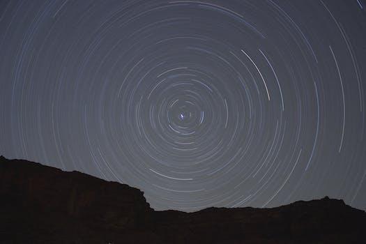 kostenloses stock foto zu nacht erde weltraum sterne