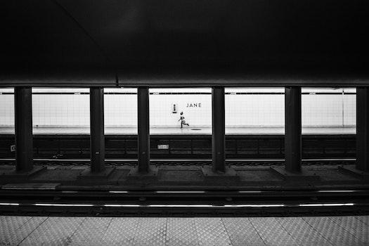 Free stock photo of train, tunnel, station, underground