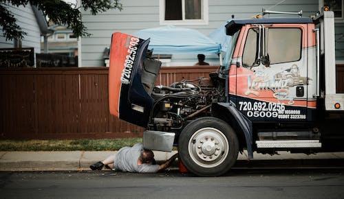 Man Under a Truck