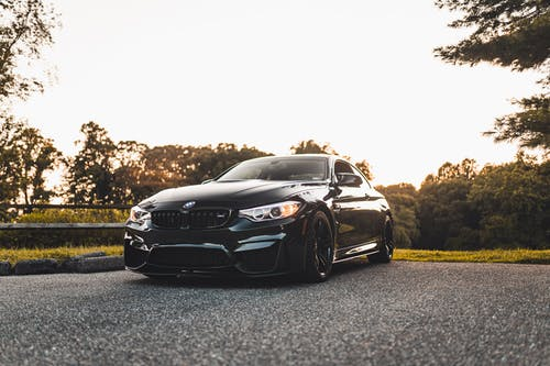 Parked Black Vehicle