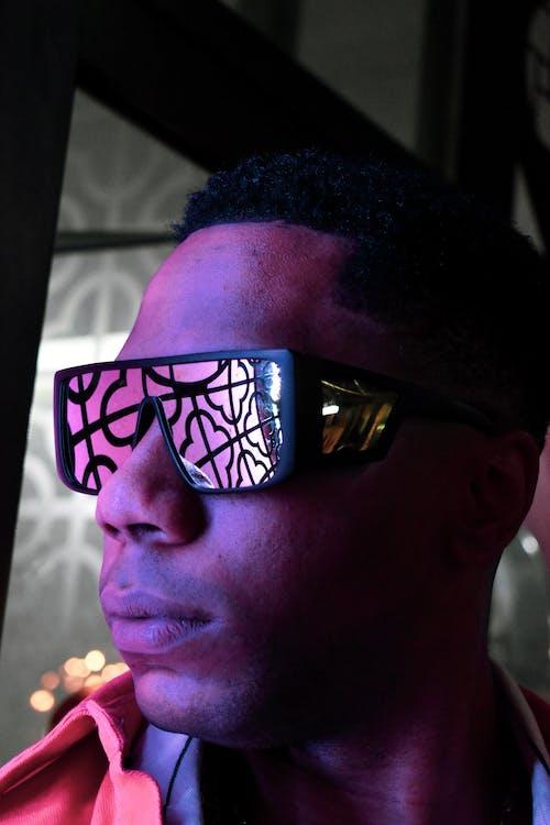 Gratis arkivbilde med ansikt, briller, festival