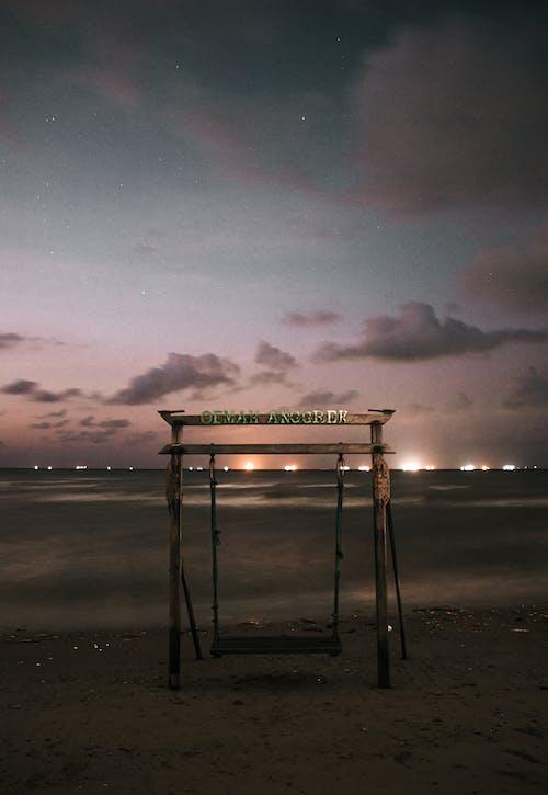 Gratis arkivbilde med daggry, hav, havkyst, kveld
