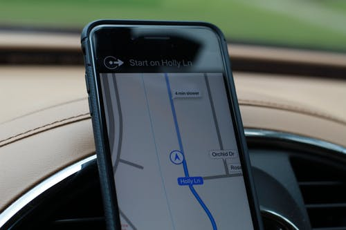 Free stock photo of car, directions, iphone 7