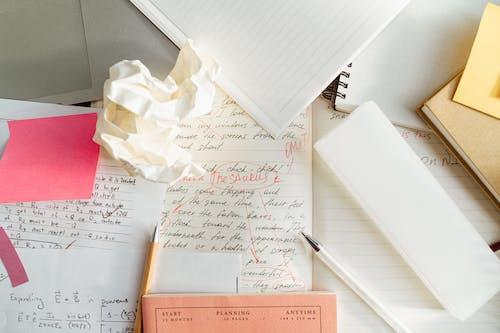 White Printer Paper on White Printer Paper
