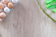 eggs, chain, eggshells