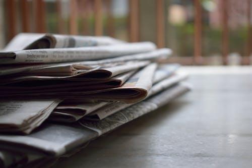Gratis lagerfoto af arbejde, avis, bunke, data