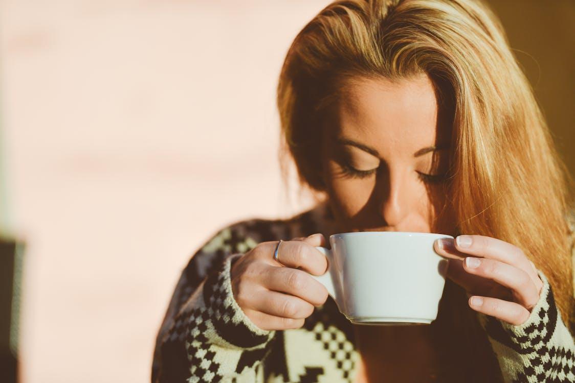 blond, caffè latte, čaj