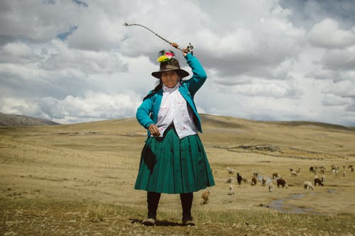 Free stock photo of Mujer Andina