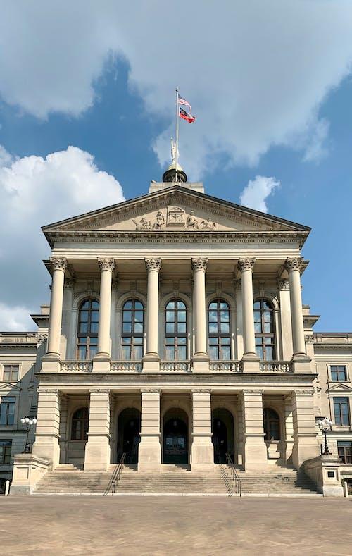 Immagine gratuita di amministrazione, antico, architettura, bandiera
