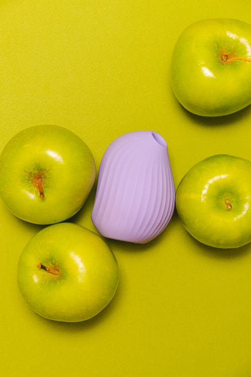 Sex Toy and Green Apples