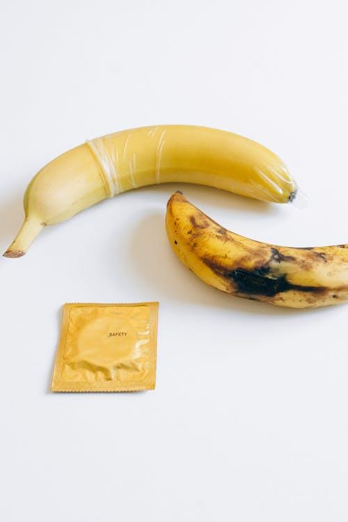 Condom Next to Bananas