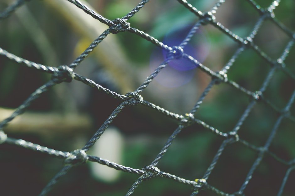 barrier, bokeh, cage