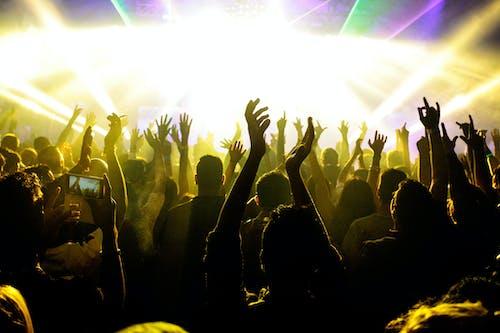 Free stock photo of crowd, ibiza, lighting