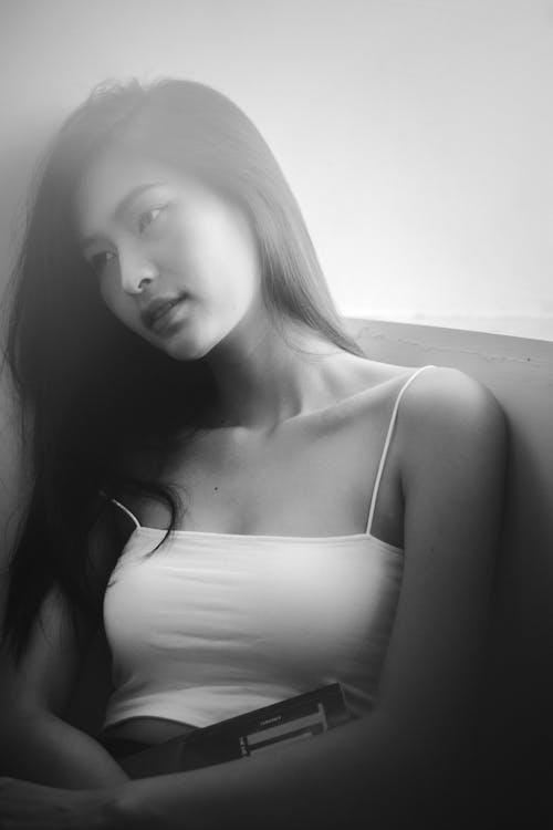 bw, 亞洲女人, 亞洲女性 的 免費圖庫相片