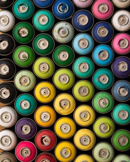 Multi Colored Round Plastic Tool