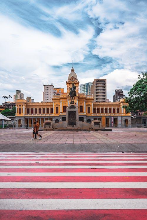 Free stock photo of Belo Horizonte, central station, city scene, pedestrian crossing