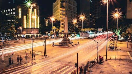 Free stock photo of Belo Horizonte, city at night, city center, city scene