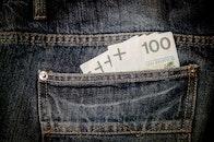 jeans, money, finance