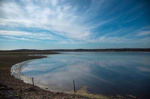 Photos gratuites de alentejo, ciel bleu, lagon