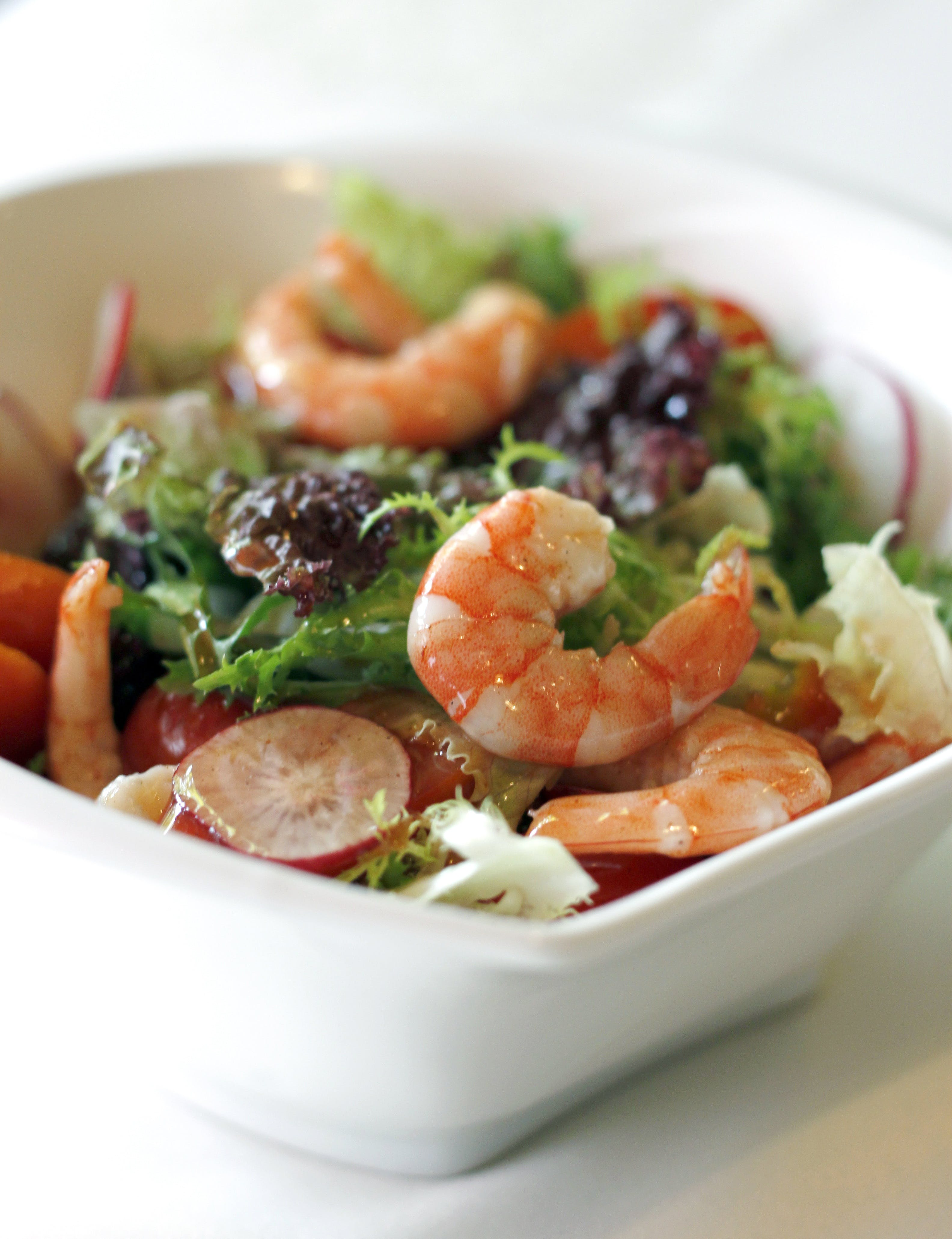 Shrimp and Vegetable Salad