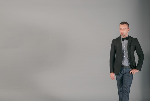 Free stock photo of bow tie, fashion, man, person