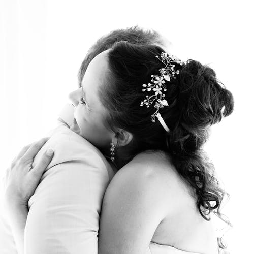 Free stock photo of black and white, celebrate, hugs