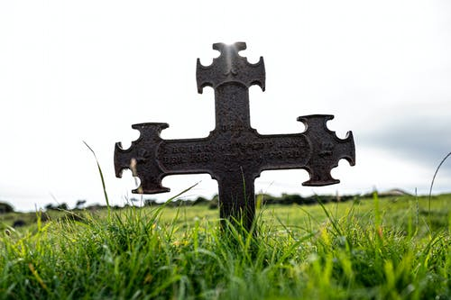 Free stock photo of abandoned, burial site, church