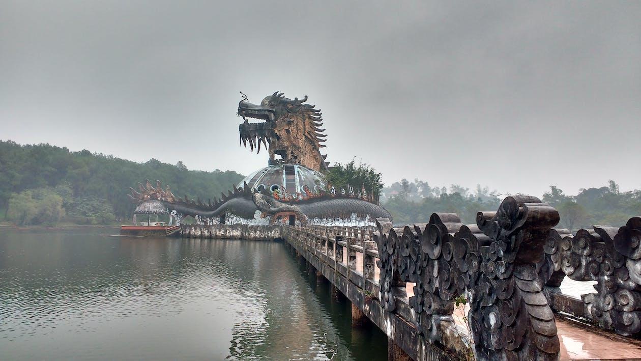 Dragon Bridge, Asia, Vietnam