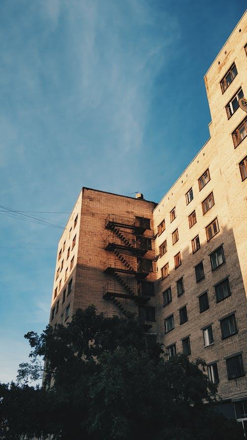 Základová fotografie zdarma na téma apartmán, architektura, beton, budova